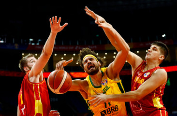 Basketball - FIBA World Cup - First Round - Group F - Brazil v Montenegro