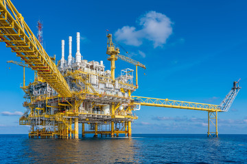 Oil and gas production and operation at offshore where produced raw gas and crude oil for sent to...