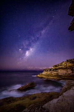 Milky Way Stars over Eastern Sydney Australia
