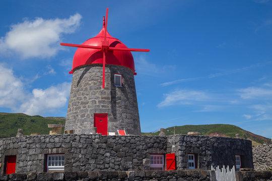 windmill on Graciosa Island