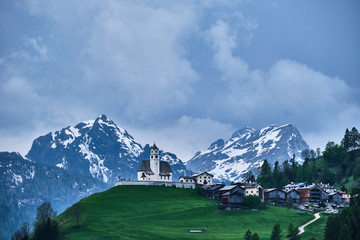 Rocks and mountains in South Tirol Italy