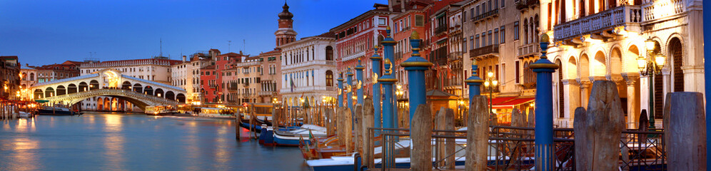 Foto op Canvas Venice Rialto Bridge, Venice