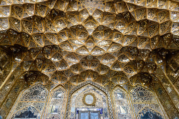 Chehel Sotoun (Chihil Sutun or Chehel Sotoon)  Forty Columns  pavilion in Isfahan, Iran