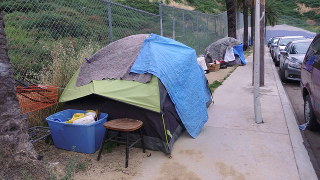 Los Angeles homeless camp