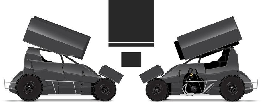 Micro Sprint Race Car