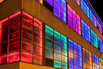 Gebäude im Licht