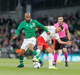 2019 Euro Qualifying Football Ireland v Switzerland Sep 5th