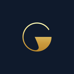 the letter G monogram in vintage style. suitable for tattoos and decoration. logo template
