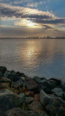 Sultry Sunrise over Downtown San Diego California