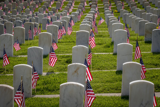 Military Grave Markers
