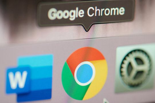 Start google chrome application on computer