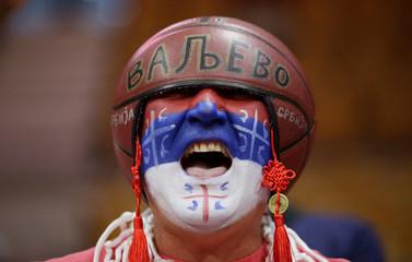 Basketball - FIBA World Cup - Second Round - Group J - Serbia v Puerto Rico