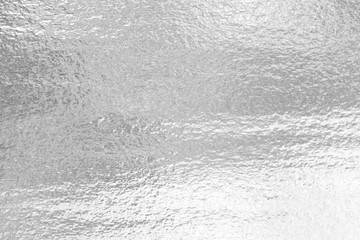 Shiny leaf silver foil