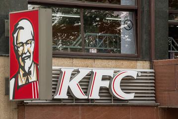 Kentucky Fried Chicken Restaurant Sign