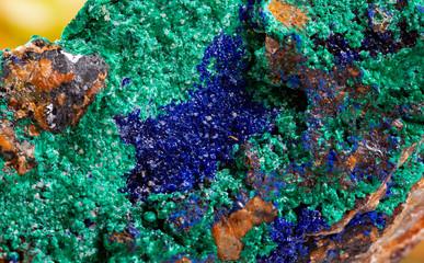 azurite malachite mineral specimen stone rock gem quartz crystal
