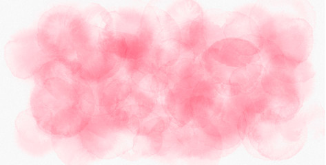 Colorful artistic pink watercolor background. Beautiful abstract texture.