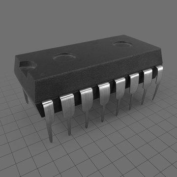 Medium integrated circuit