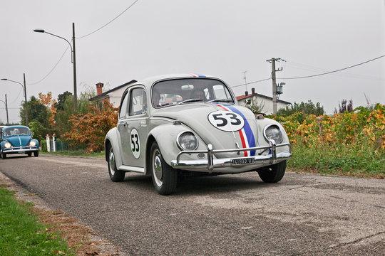 """Type 1 Beetle """"Herbie"""" of the sixties"""