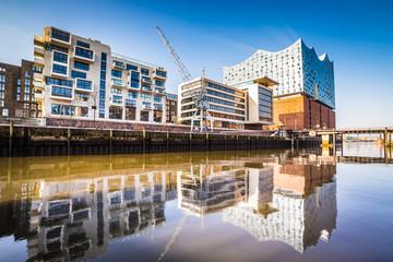 Der Hafen von Hamburg