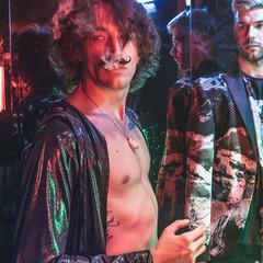 Neon,gay,club,party,style,retro