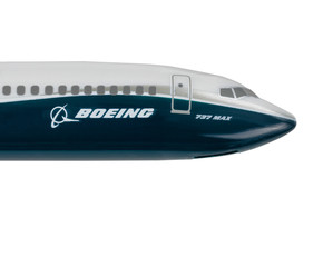 Boeing 737 Max Logo on white for editorial purposes