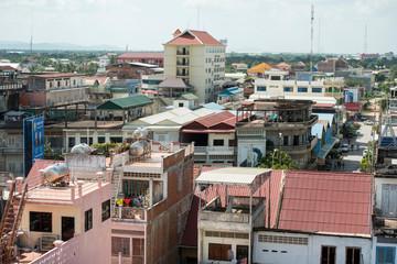 CAMBODIA BATTAMBANG CITY VIEW