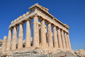 Foto op Canvas Athene Acropole Athènes Grèce