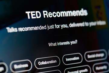 Ted talks recommended