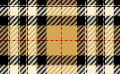 seamless tartan or plaid texture with threads