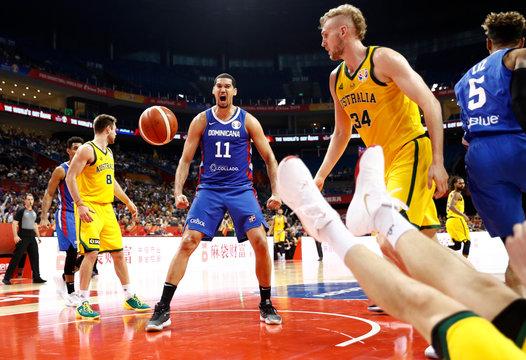 Basketball - FIBA World Cup - Second Round - Group L - Australia v Dominican Republic