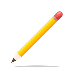 Pencil vector isolated illustration