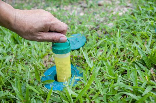 Anti Termite Baiting System.