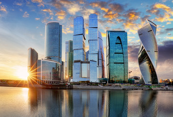 Fotomurales - Moscow International Business Center, Russia