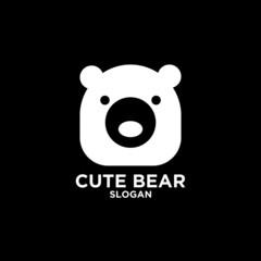 box bear logo icon designs vector illustration template