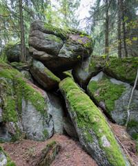 mystische Kultfelsen im Waldviertel