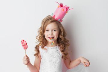 Little candy princess Wall mural