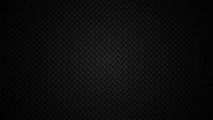 Texture of corrugated black steel sheet. Vector illustration.