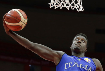 Basketball - FIBA World Cup - Second Round - Group J - Puerto Rico v Italy