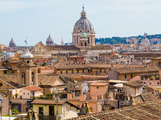 Wall Murals Rome Aerial view of Rome, Italy
