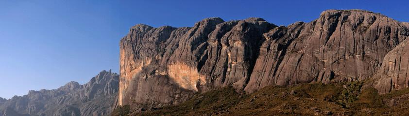 En route vers le Pic Boby à Madagascar dans le massif d'Andringitra