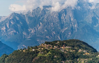 Wall Mural - Scenic Province of Como
