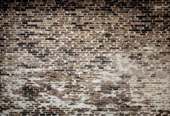 Vintage brick wall texture background