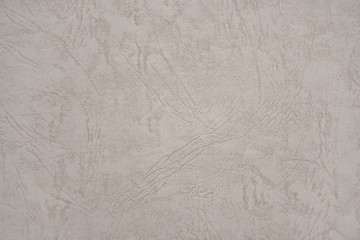 Abstract beige leather texture paper background or backdrop. Empty old cream parchment sheet for...