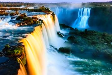 Igauzu Waterfall, Brazil - Cataratas do Iguasu, Brasil (UNESCO World Heritage) Wall mural