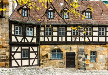 Wall Mural - Alte Hofhaltung, Fachwerkhaus, Historisches Bamberg -  Deutschland