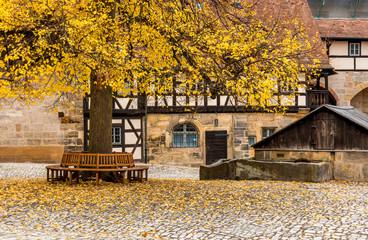 Wall Mural - Historisches Bamberg - Alte Hofhaltung, Deutschland