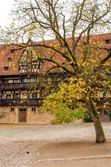 Fototapete - Historisches Bamberg - Alte Hofhaltung, Deutschland