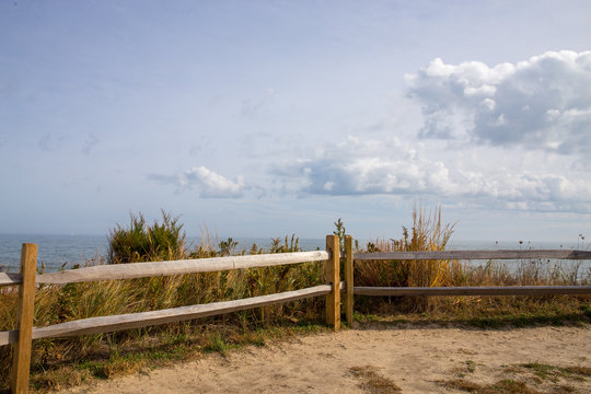 view of atlantic ocean from cape henlopen lewes sussex county delaware