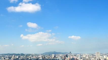 Wall Mural - 都市風景 北九州市