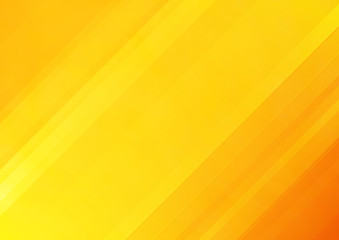 Wall Mural - Abstract orange vector background with stripes
